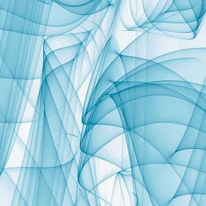 Rouleau adhésif Murano Bleu