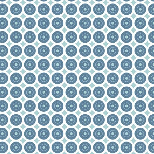 Adhésif déco Géométrique Bleu