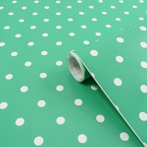 Rouleau adhésif Pois Vert