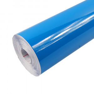 Rouleau adhésif Brillant Bleu Pétrole