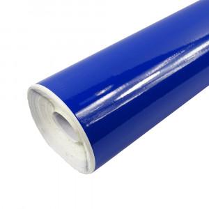 Rouleau adhésif brillant bleu royal