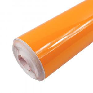 Rouleau adhésif Brillant Orange Clair