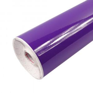 Rouleau adhésif brillant violet