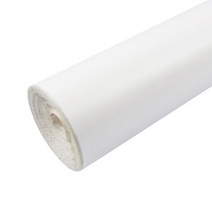 Rouleau adhésif mat blanc