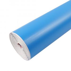 Rouleau adhésif mat bleu ciel