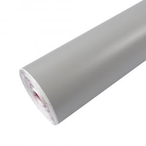 Rouleau adhésif mat gris