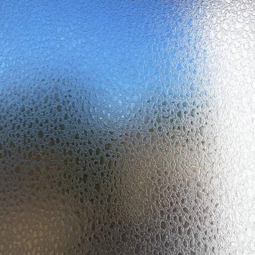 Adhésif déco vitrostatique eau